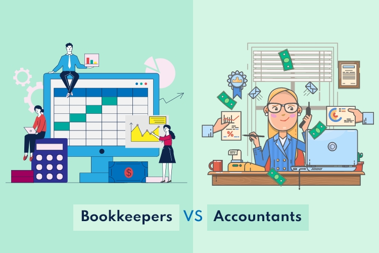 The Difference Between Bookkeepers and Accountants